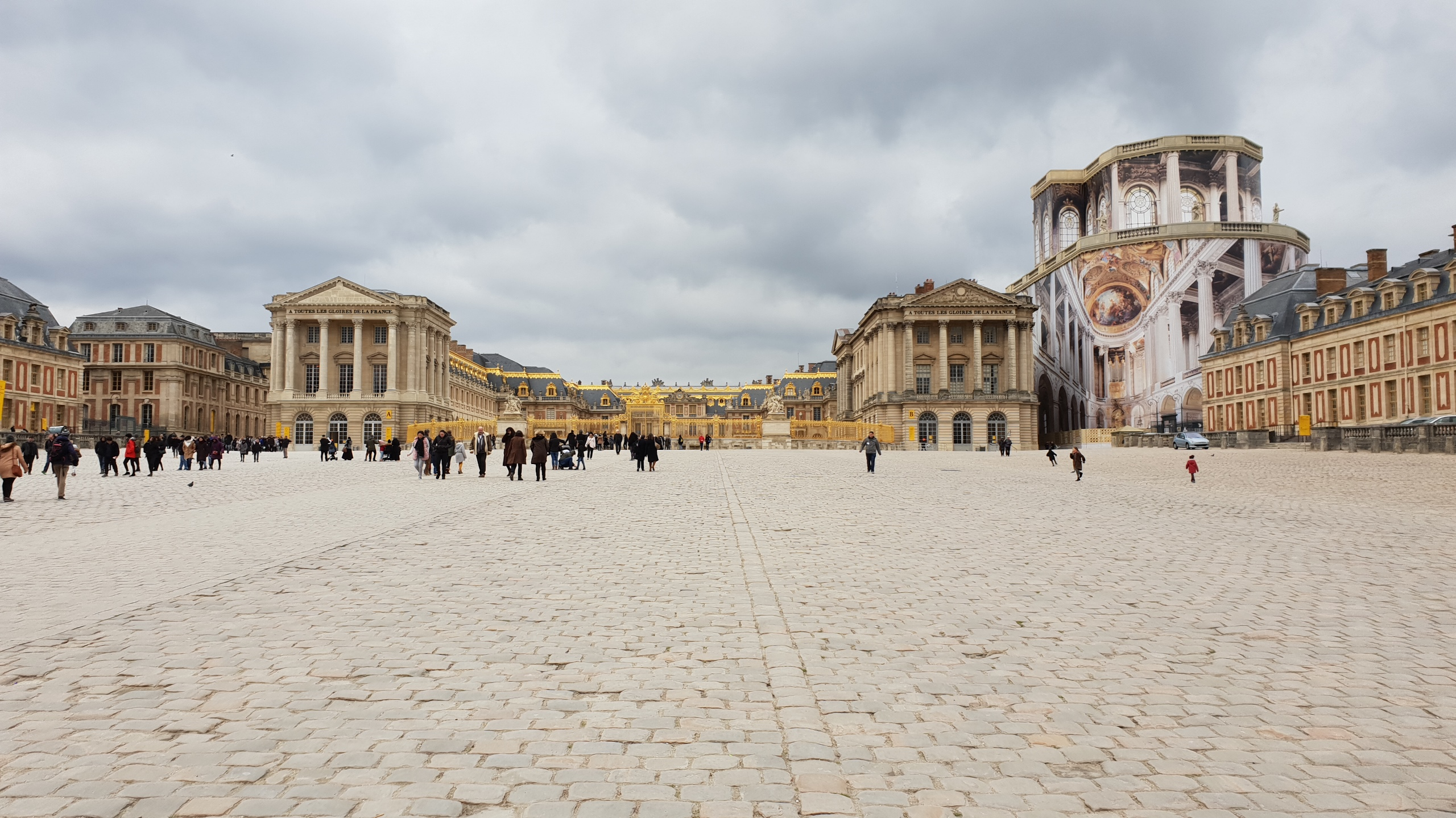 2019 – You will travel in a land of marvels – Versailles