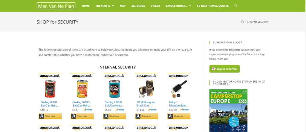 Shop for Security