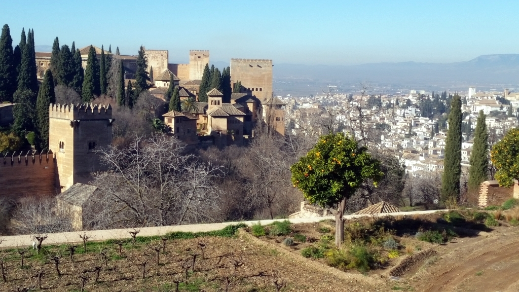 2018 – You will travel in a land of marvels – The Alhambra Palace