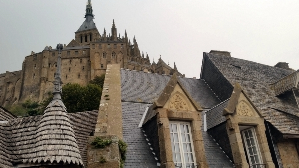 2017 – You will travel in a land of marvels – Mont St Michel