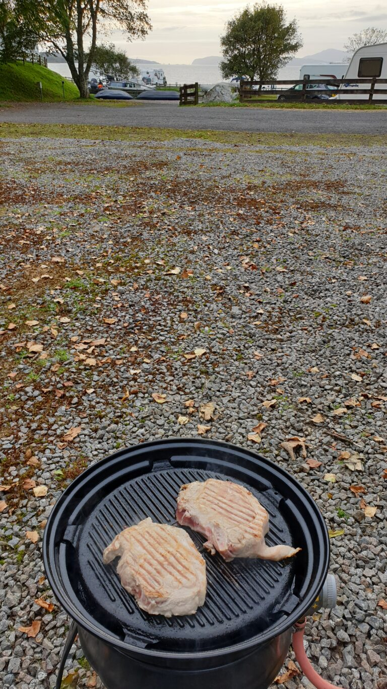 North Ledaig barbecue