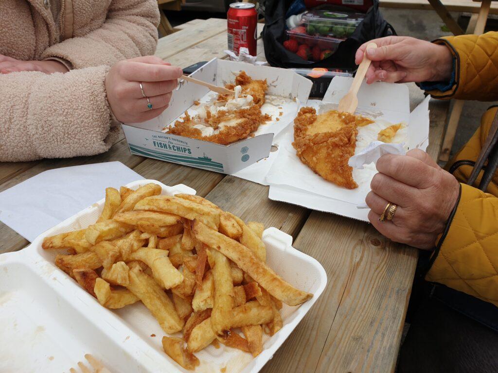 Fish & Chips at Otley