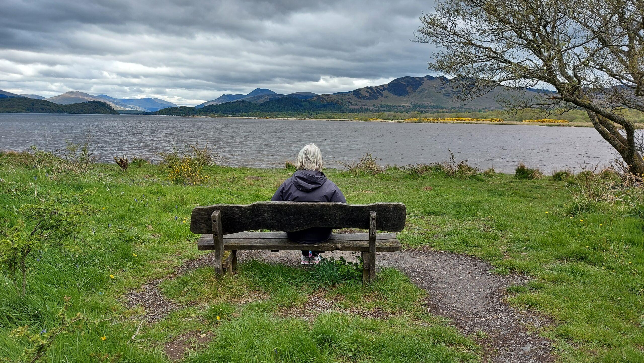 2021 – Lagganbeg Caravan Park – Stunning views of Loch Lomond